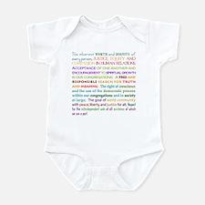 UU Principles Infant Creeper