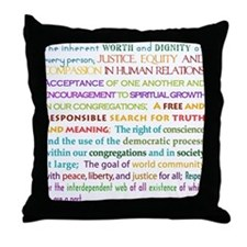 UU Principles Throw Pillow