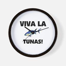 Viva La Tunas Wall Clock