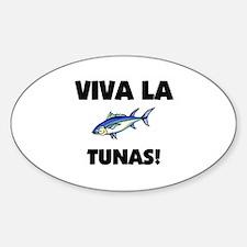 Viva La Tunas Oval Decal