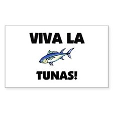 Viva La Tunas Rectangle Decal