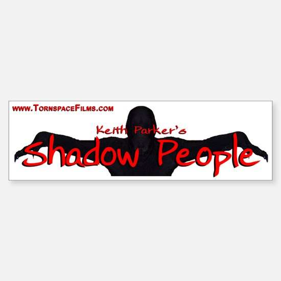 Shadow People - Logo Bumper Bumper Bumper Sticker