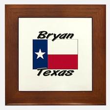 Bryan Texas Framed Tile