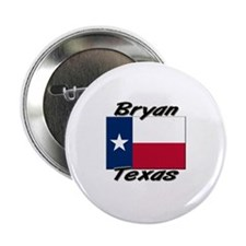 """Bryan Texas 2.25"""" Button"""