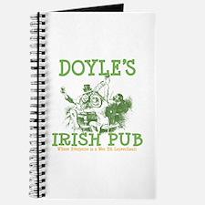 Doyle's Vintage Irish Pub Personalized Journal