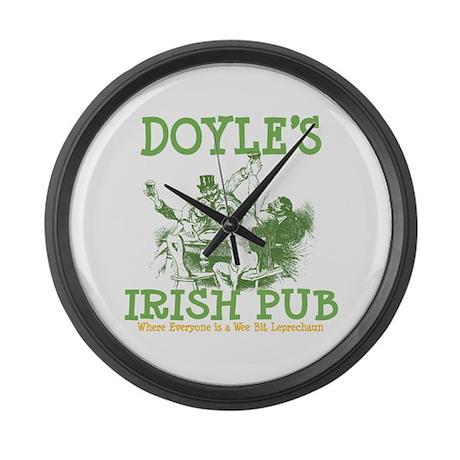 Doyle's Vintage Irish Pub Personalized Large Wall