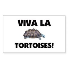 Viva La Tortoises Rectangle Decal