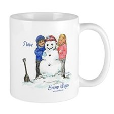 I Love Snow Days Regular Mug