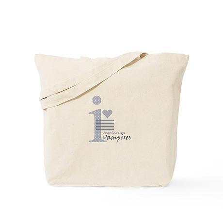 i heart vegetarian vampires Tote Bag