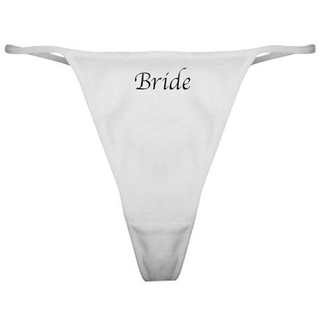 Greys Textatomy Bride Classic Thong