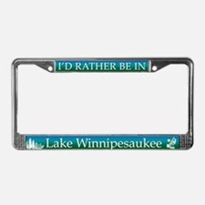 Lake Winnipesaukee License Plate Frame