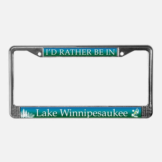 Lake Winnipesaukee License Plate Frame