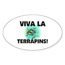 Viva La Terrapins Oval Decal