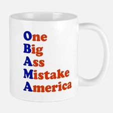 Obama: One Big Ass Mistake America Mug