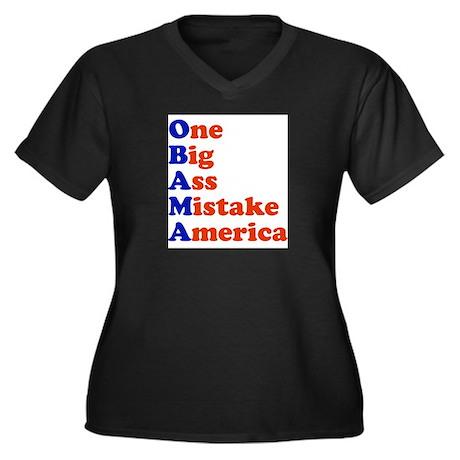 Obama: One Big Ass Mistake America Women's Plus Si