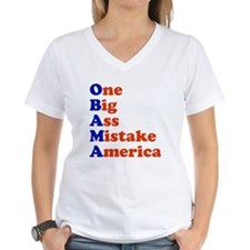 Obama: One Big Ass Mistake America Shirt