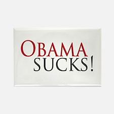 Obama Sucks Rectangle Magnet