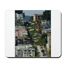 streets of san Francisco Mousepad
