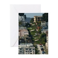 streets of san Francisco Greeting Card