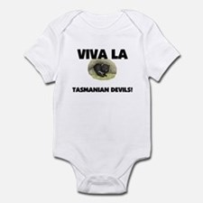 Viva La Tasmanian Devils Infant Bodysuit