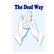 The Deaf Way Postcards (Package of 8)