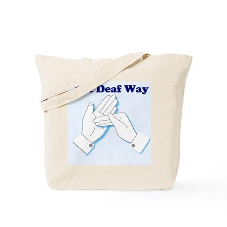 The Deaf Way Tote Bag