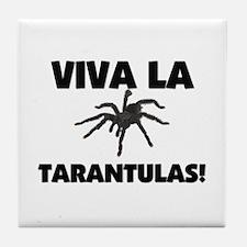 Viva La Tarantulas Tile Coaster