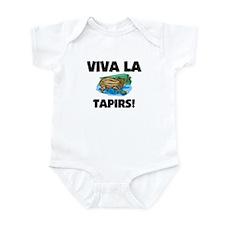 Viva La Tapirs Infant Bodysuit
