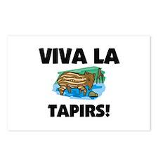 Viva La Tapirs Postcards (Package of 8)