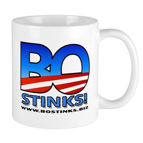 BO Stinks Coffee Mug