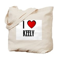 I LOVE KEELY Tote Bag
