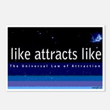 Like attracts like Postcards (Package of 8)