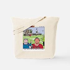 Football Combine Tote Bag
