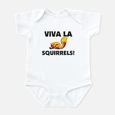 Viva La Squirrels Onesie