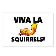 Viva La Squirrels Postcards (Package of 8)