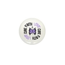 General Cancer Faith Mini Button (10 pack)