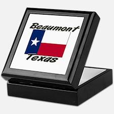 Beaumont Texas Keepsake Box