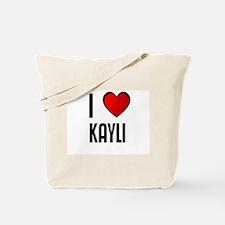 I LOVE KAYLI Tote Bag
