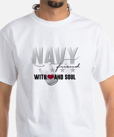Navy Friend - With Heart and Shirt