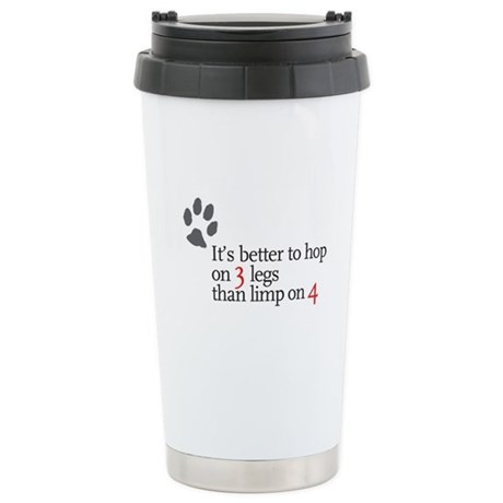 Better to Hop . . . Stainless Steel Travel Mug