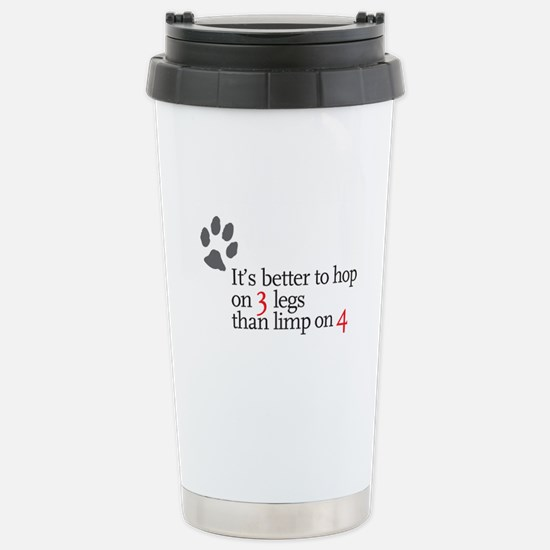 Better to Hop . . . Stainless Steel Travel Mug