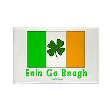 Erin Go Bragh Irish Rectangle Magnet
