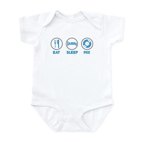 Eat Sleep Mix Again Infant Bodysuit