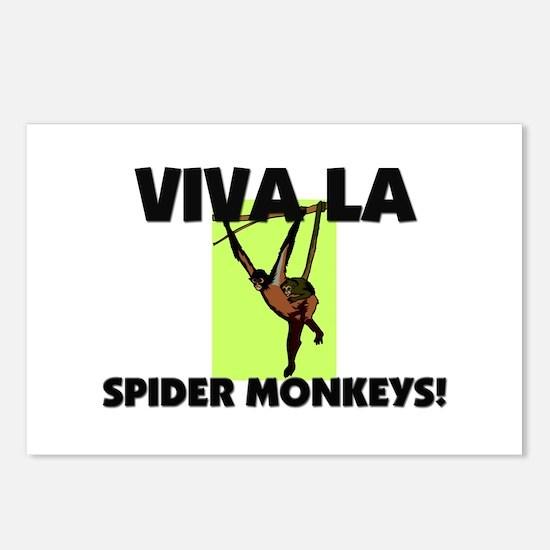 Viva La Spider Monkeys Postcards (Package of 8)