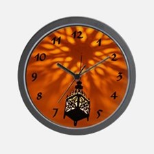 Moroccan Nights Wall Clock