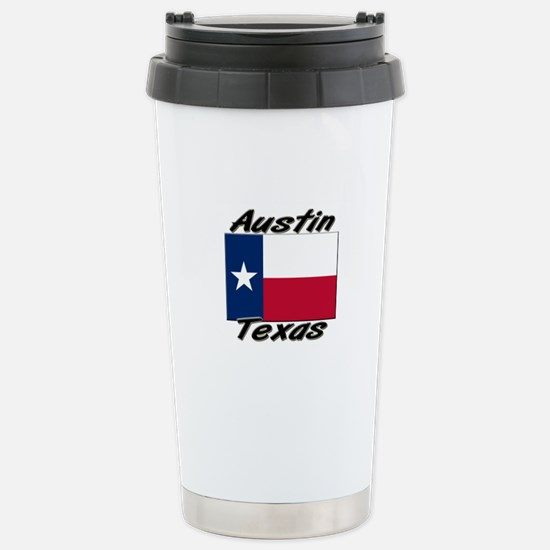 Austin Texas Stainless Steel Travel Mug