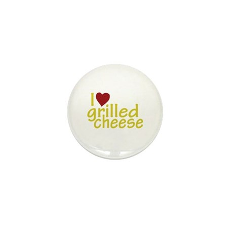 I Love Grilled Cheese Mini Button (10 pack)