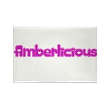 Amberlicious Rectangle Magnet