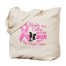 Border Collies Against Breast Cancer 2 Tote Bag