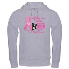 Border Collies Against Breast Cancer 2 Hoodie